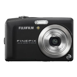 Fujifilm FinePix F60fd 12MP Digital Camera with 3x Optical Dual Image Stabilized Zoom