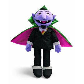 Gund Sesame Street The Count doll with cape