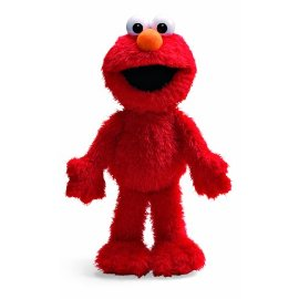 Gund Soft and Shaggy Elmo doll in new larger size!