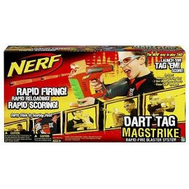 Hasbro Nerf Dart Tag Mag Strike Red
