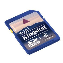 Kingston 4GB SDHC Class 4 Memory Card
