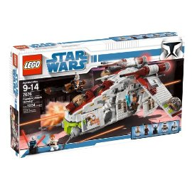 LEGO Star Wars Republic Attack Gunship (7676)