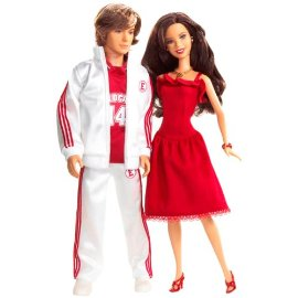 Mattel High School Musical Gabriella & Troy 2-Pack