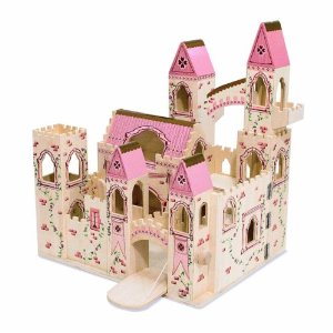 Melissa & Doug Deluxe Wooden Princess Castle