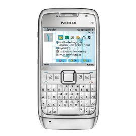 Nokia E71 Unlocked (3.2MP Camera, 3G, Media Player, GPS - USA Version with Warranty) (White)