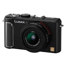 Panasonic DMC-LX3 (10.1MP, 2.5x Wide Angle MEGA Optical IS Zoom) (Black)