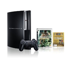 Playstation 3 160Gb Uncharted: Drake's Fortune Bundle (CECHP01)