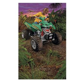 Power Wheels AT Rex 4-Wheeler by Fisher-Price