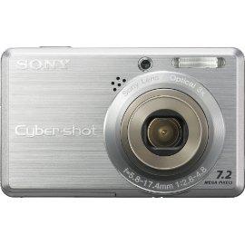 Sony Cybershot DSCS750 7.2MP Digital Camera with 3x Optical Zoom