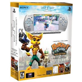 Sony PSP 3000 Ratchet and Clank Entertainment Pack (Limited Edition)