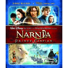 The Chronicles of Narnia: Prince Caspian (Three-Disc Collector's Edition+ Digital Copy) [Blu-ray]