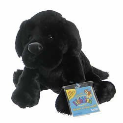 Webkinz Black Lab Dog