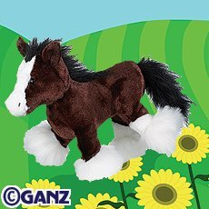 Webkinz Clydesdale Horse