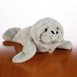 Webkinz Ganz Large Manatee August 2008 Brand New Release Hm-229