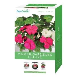AeroGarden Master Gardener Deluxe - 3 Seasons 18-Pods without Seeds