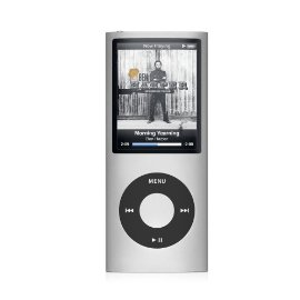 Apple iPod nano 8GB (4th Gen) (Silver)