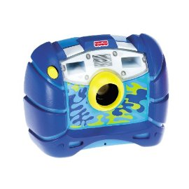 Fisher-Price Kid-Tough Waterproof Digital Camera (Blue)