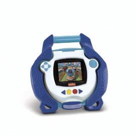 Kid Tough Portable DVD Player by Fisher-Price (Blue)
