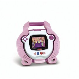 Kid Tough Portable DVD Player by Fisher-Price (Pink)