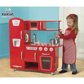 KidKraft Retro Kitchen Set (Red)
