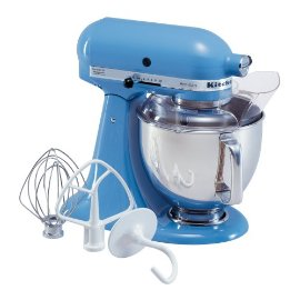 KitchenAid KSM150PSCO Artisan Series 5-Quart Stand Mixer (Cornflower Blue)