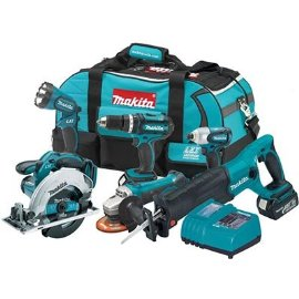 Makita LXT601 18V Lithium-Ion 6-Tool Cordless Combo Kit