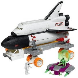 Matchbox Mega Rig Space Shuttle [with Frustration-Free Packaging]