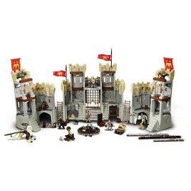 Mega Bloks King Arthur Battle Action Castle