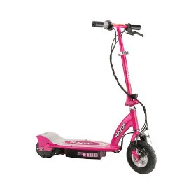 Razor E100 Electric Scooter (Pink)