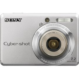 Sony Cybershot DSC-S730 7.2MP Digital Camera with 3x Optical Zoom