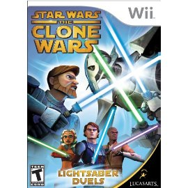 Star Wars The Clone Wars: Lightsaber Duels [Wii]