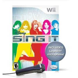 Wii Disney Sing It Bundle with Microphone