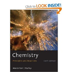 Chemistry: Principles and Reactions (6th Edition)