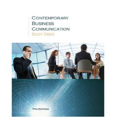 Contemporary Business Communication Seventh Edition (7th Edition)