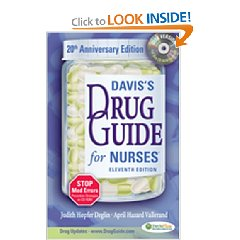 Davis's Drug Guide for Nurses, with Resource Kit CD-ROM (11th Edition)