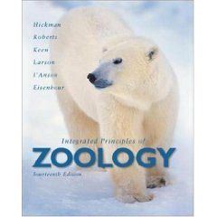 Integrated Principles of Zoology (14th Edition)