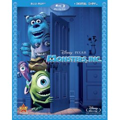 Monsters, Inc. (4-Disc Set) [Blu-ray]
