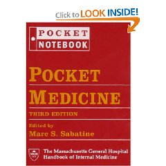 Pocket Medicine: The Massachusetts General Hospital Handbook of Internal Medicine (Pocket Notebook Series) (Third Edition)
