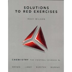 Solutions to Red Exercises for Chemistry: The Central Science (11th Edition)