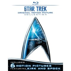 Star Trek: Original Motion Picture Collection (The Motion Picture / The Wrath of Kahn / The Search for Spock / The Voyage Home / The Final Frontier / The Undiscovered Country) [Blu-ray]