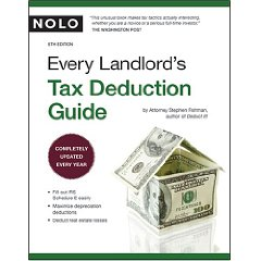 Every Landlord's Tax Deduction Guide (5th Edition)