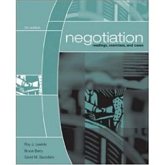 Negotiation: Readings, Exercises, and Cases (5th Edition)