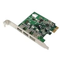 2PORT Firewire 800 + 1PORT Firewire 400 Pci Express Card