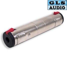 4 1/4 Locking Coupler TS/TRS Adapter GLS Audio