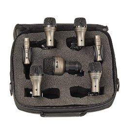 7 Piece Drum Mic Touring Pack