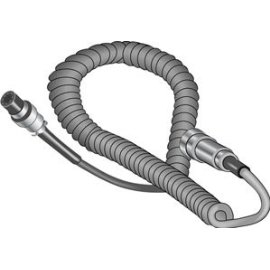 Cobra AC 702 4-Foot Coiled Microphone Extension Cable