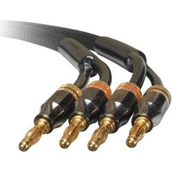 Dayton SCP-6 Speaker Cable Pair w/Bananas 6 ft.