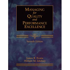 Managing for Quality and Performance Excellence (with CD-ROM) (7th Edition)