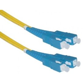 SC / SC, Single Mode, Duplex Fiber Optic Cable, 9/125, 1 Meter