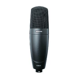 Shure KSM32 Embossed Single-Diaphragm Microphone, Charcoal Grey